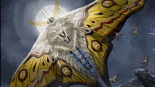 mtg 光明の繁殖蛾の能力とトークンについて